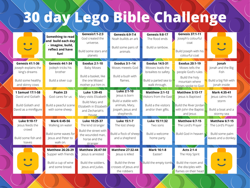 30 Day Lego Bible Challenge