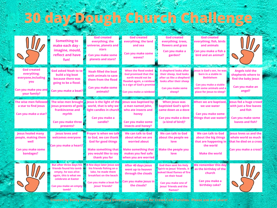 30 Day Dough Church Challenge